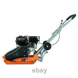 Yardmax Force Plate Compactor Automoteur Compaction 6.5 HP 196 CC 2500 Lb